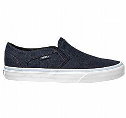 Καθημερινό παπούτσι από τη VANS σε χρώμα μπλε.Κατασκευασμένο από πάνινο  υλικό υψηλης ποιότητας χωρίς κορδόνια με ελαστικούς ιμαντες στα πλαινα για  απόλυτη ... 7563ae36f07