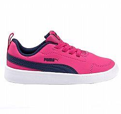 4d085289053 Δερμάτινο παιδικό παπούτσι από την PUMA στο πάνω μέρος ανατομική σόλα και  ειδικό σχήμα που βοηθά στην κίνηση. Διαθέτει ελαστικά κορδόνια για πρακτική  χρήση ...