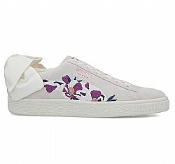 PUMA SUEDE BOW FLOWERY WHITE