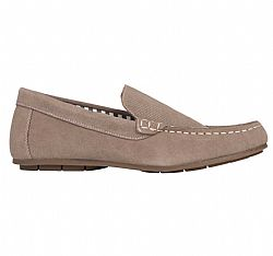 LIVERGY MOCASSINS LEATHER LOAFERS BEIGE