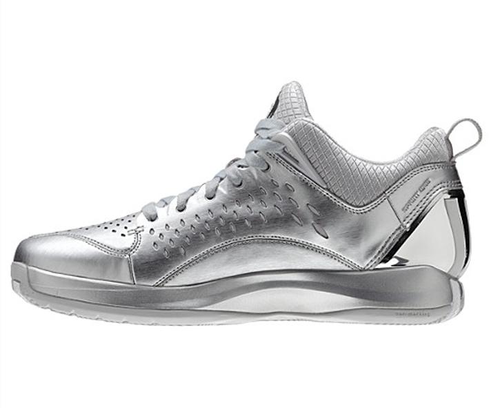 f0ff3ceaad7 ... metallic silver closeout a648f 97468  usa adidas d rose 3 low no 40.5  79f3b 6c335
